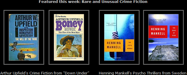 Rare and Unusual Crime Fiction