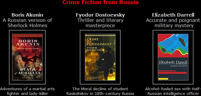 Crime Fiction from Russia